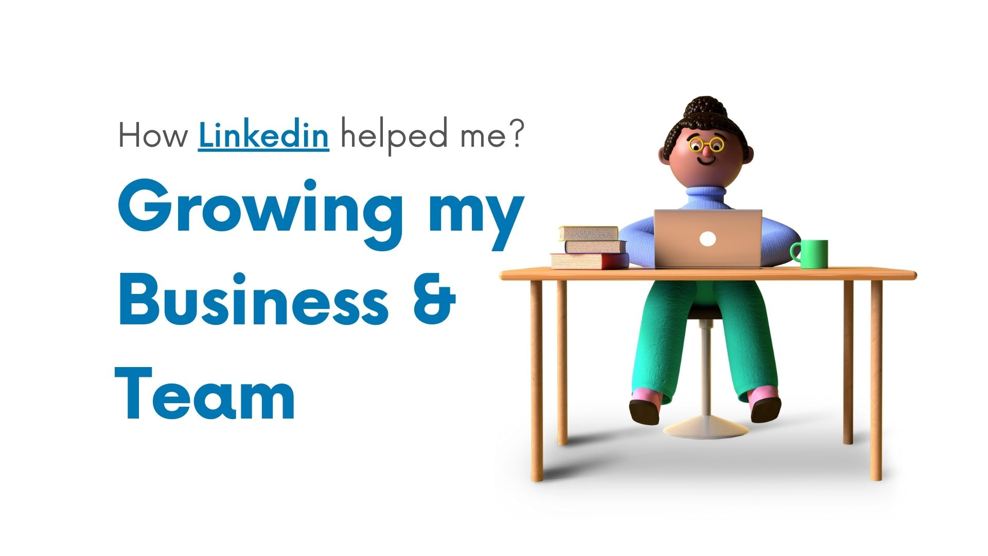 growing business and team on linkedin