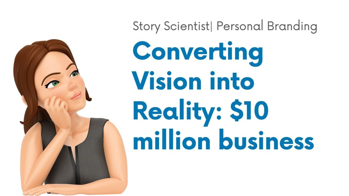 Personal branding_Visualization_The Conversion Stack_Thought Leadership